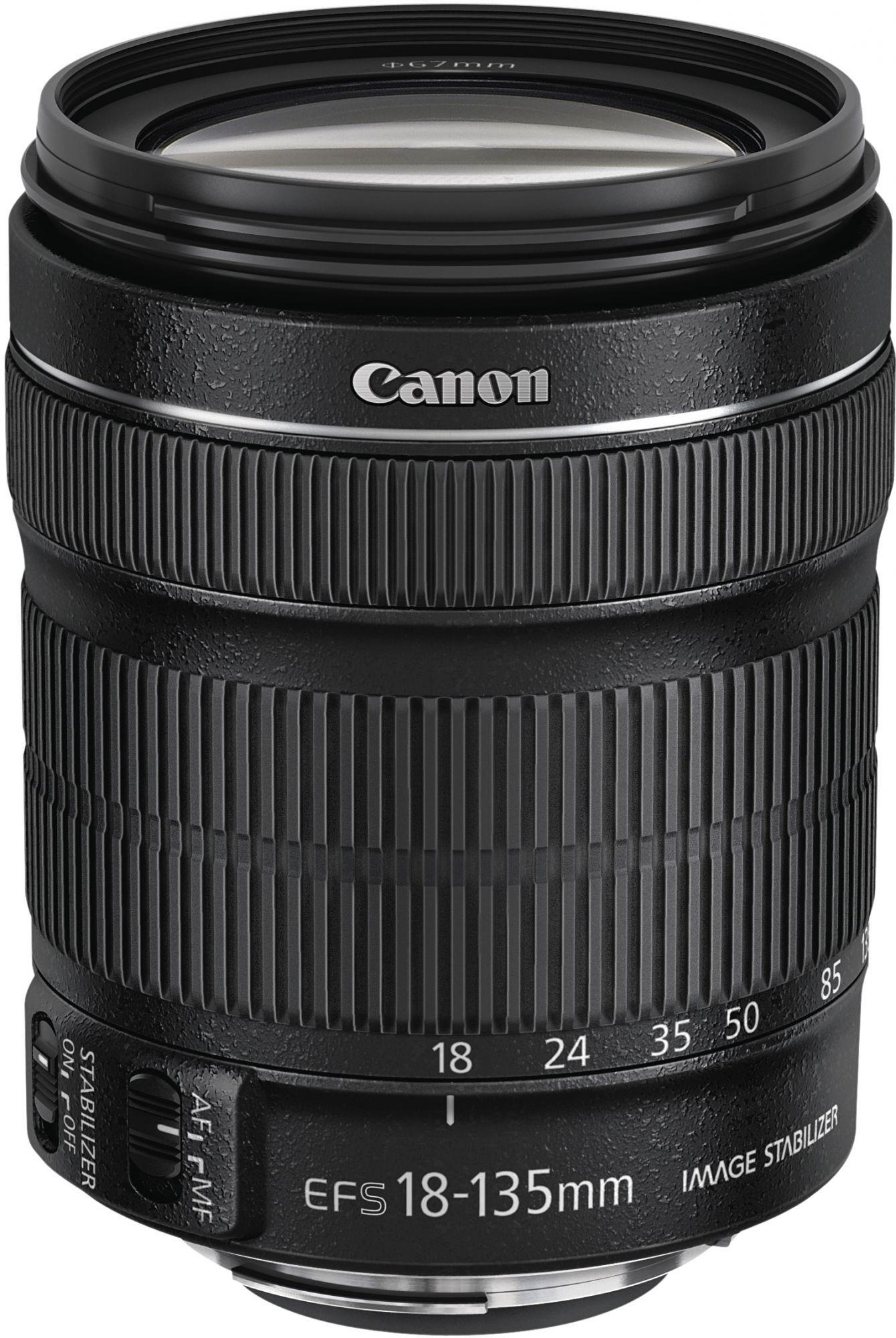 Canon EF-S 18-135mm f/3.5-5.6 IS STM + EW73B+LC kit - SELEKCE SIP