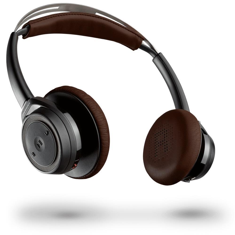 Plantronics BackBeat SENSE Bluetooth stereo sluchátka s mikrofonem, černá