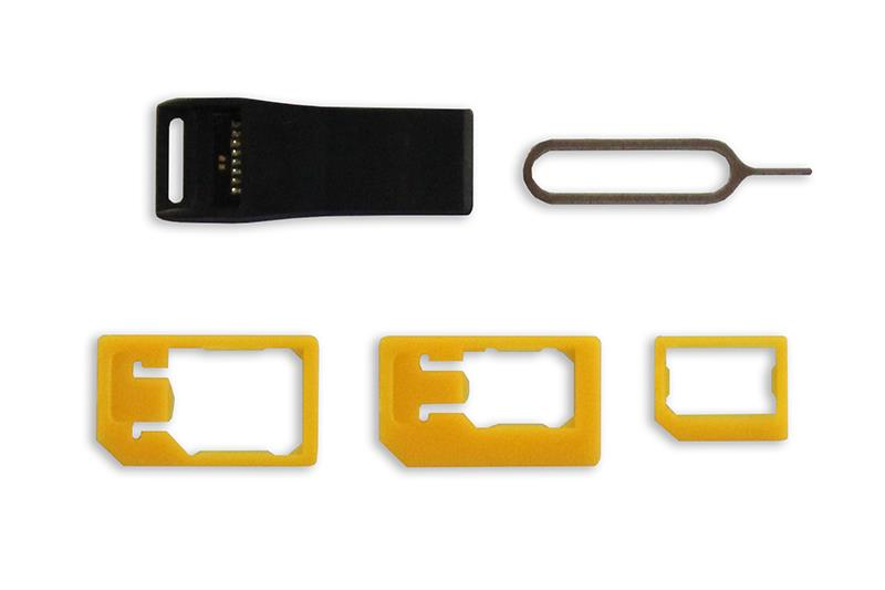 MOBILE BUDDY - SIM and t-flash cards smart holder with micro-SD USB card reader