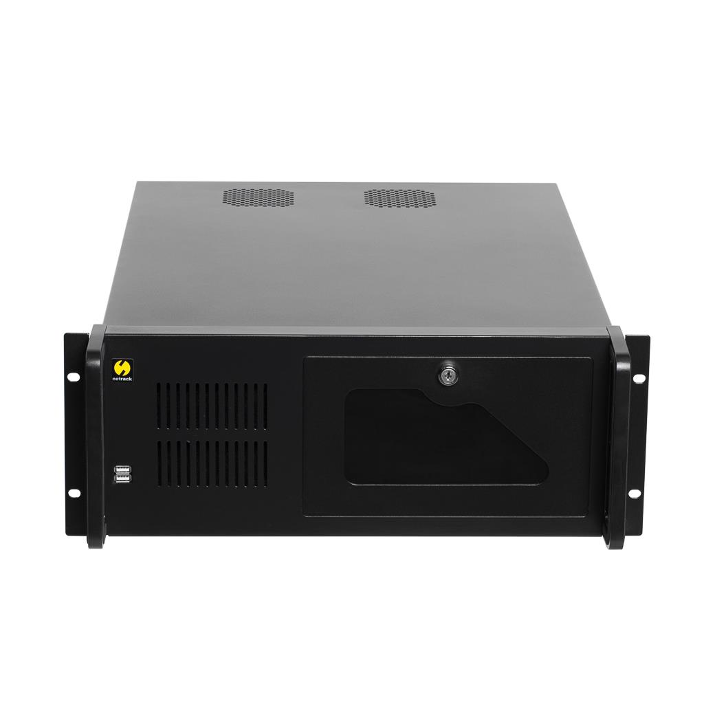Netrack server case microATX/ATX/eATX, 482*177*530mm, 4U, rack 19''