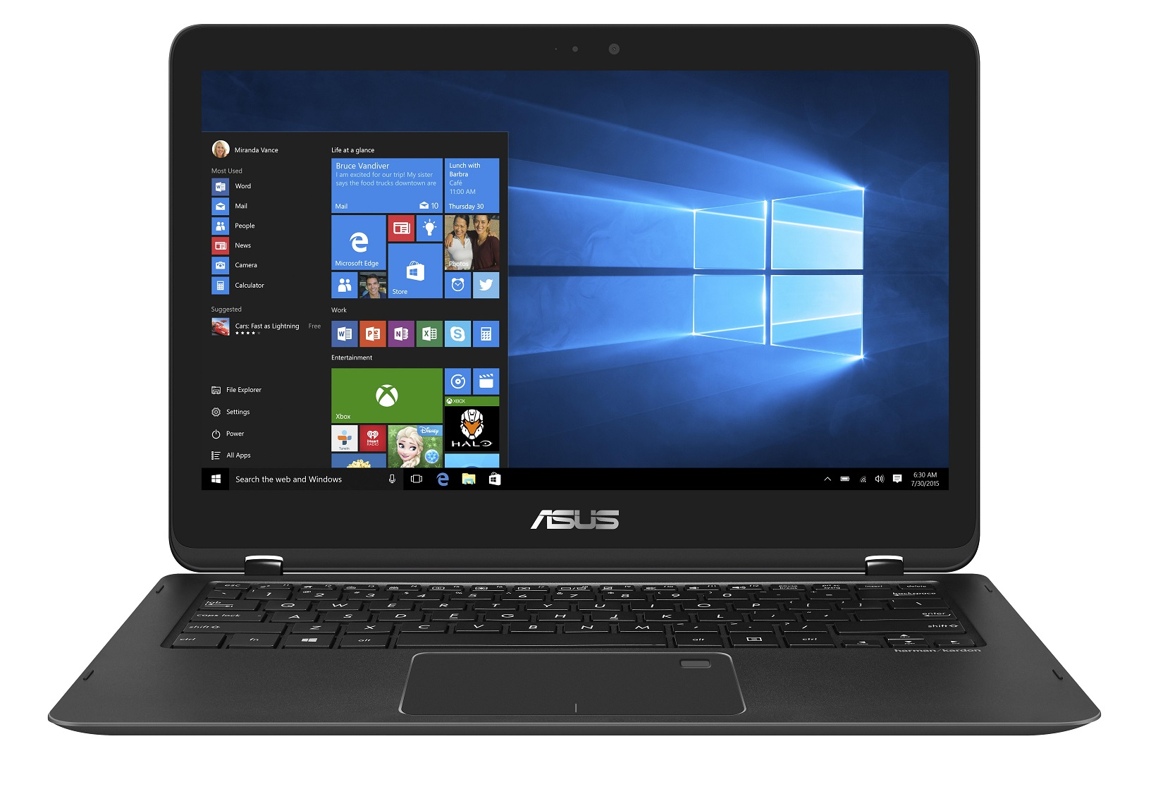 "ASUS UX360UAK-BB358R i7-7500U/16GB/512G SSD PCIe/HD graphics/13,3"" 1920x1080 IPS Touch matný/W10 Pro/Black"