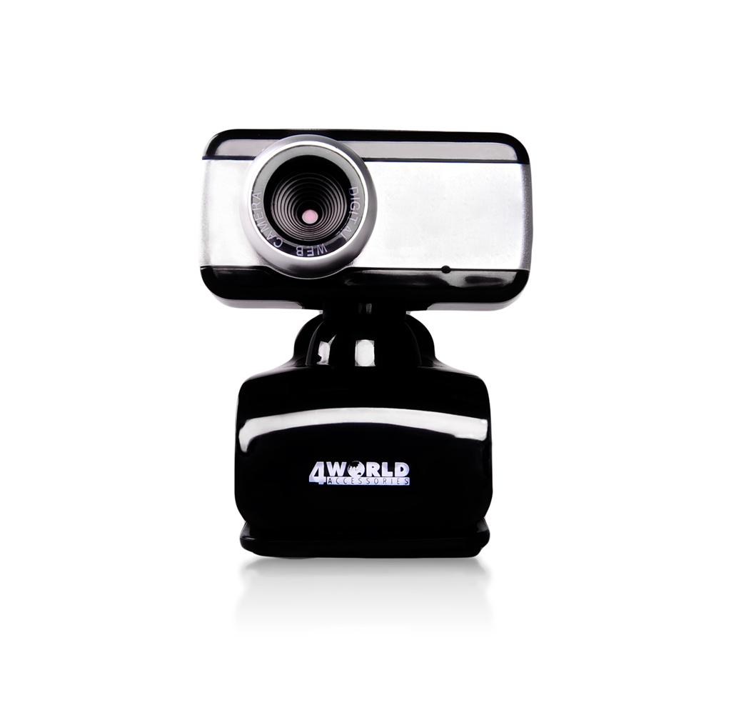 4World Internetová kamera 2 Mpx USB 2.0 mikrofon, univerzá