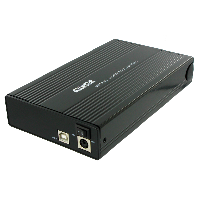"4World Externí box na HDD 3.5"" IDE/SATA USB 2.0"