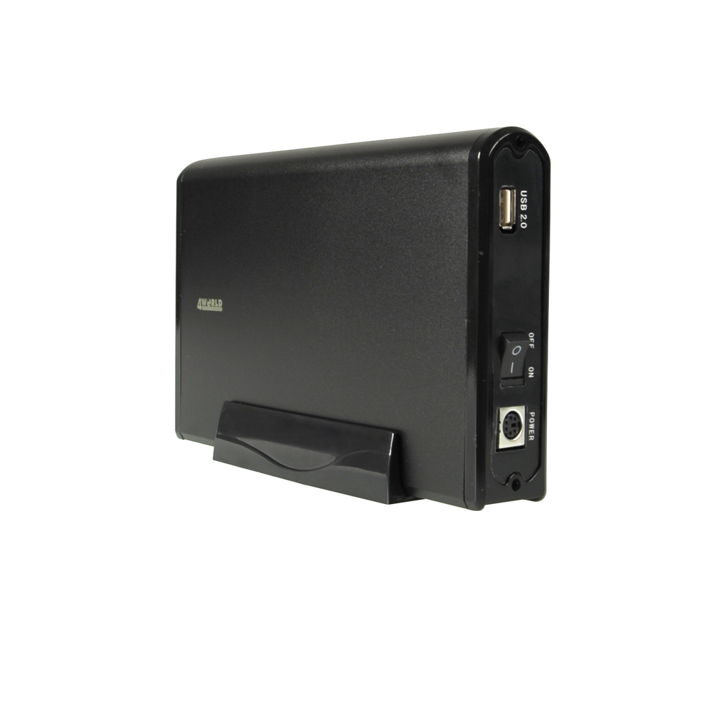 "4World Externí box na HDD 3.5"" SATA USB 2.0"