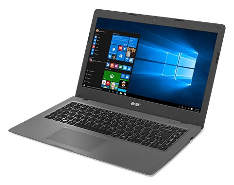"DEMOPRODUKT Acer Aspire One Cloudbook 14 (AO1-431-C9RX) Celeron N3050/2GB+N/eMMC 64GB+N/HD Graphics/14"" HD/W10 Home/Dark Grey"