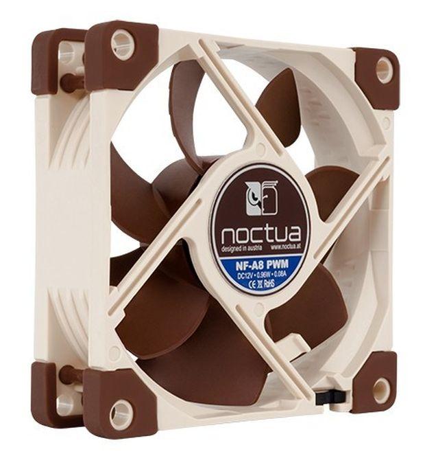 Noctua NF-A8 FLX, 80x80x25 mm, 3pin