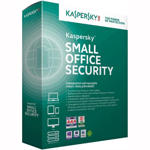 Kaspersky Small Office 6/15-19 nods/2 year/Přechod