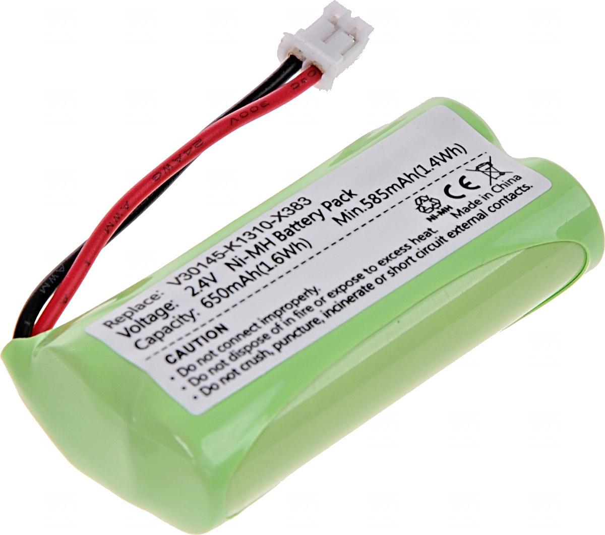 Baterie T6 power Gigaset A12, A120, A14, A140, A16, A160, A24, A260, A380, A580, Ni-Mh, 650mAh