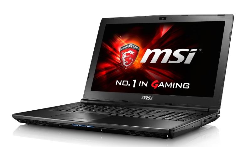 """MSI GL62 6QE-1804CZ/i5-6300HQ Skylake/8GB/1TB HDD 7200 ot./DVDRW/GTX950M 2GB/15.6"""" FHD/Win10"""