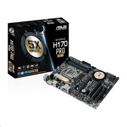 ASUS H170-PRO/USB 3.1 soc.1151 H170 DDR4 ATX 2xPCIe RAID USB3.1 GL iG DVI HDMI