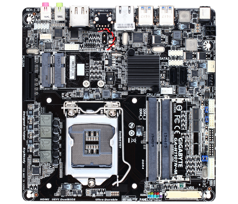 GIGABYTE H110TN-M (rev. 1.0)