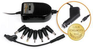 Media-Tech univerzální auto adaptér 12V pro notebooky