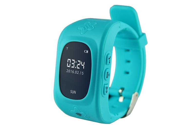 KIDS LOCATOR GPS - Tracking smartwatch, with alarm phone for safety of kids