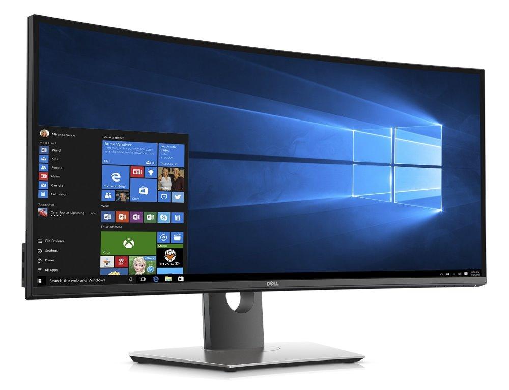 """DELL U3417W UltraSharp/ 34"""" WLED/ 21:9/ 8ms/ 3H-IPS/ HDMI/ miniDP/ DP/ 4x USB/ repro/ 3YNBD"""