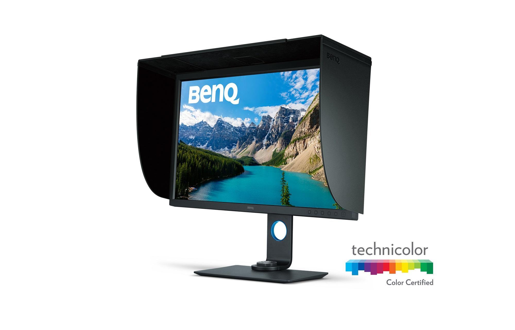 """32"""" LED BenQ SW320 - UHD, IPS,HW cal., gray,piv"""