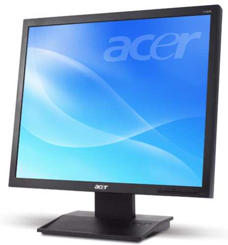 "Acer LCD V196Lb 19"" LED, 1280 x 1024, 100M:1,,5ms, black,, TCO 6.0"