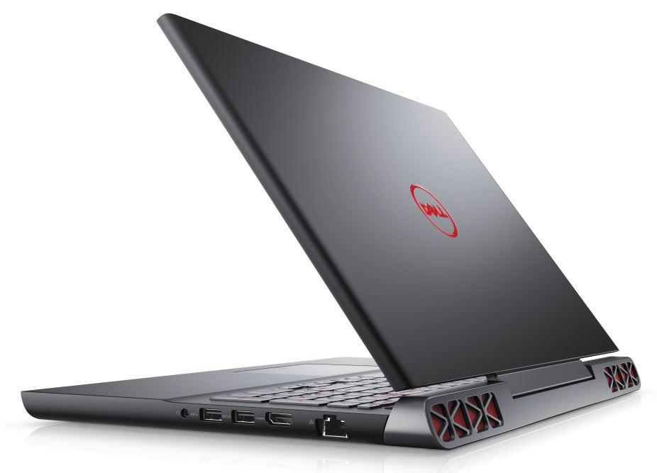 "Dell Inspiron 7567 15"" FHD i7-7700HQ/8G/8+1TB SSHD/GTX1050-4G/MCR/RJ45/HDMI/W10/2RNBD/Černý"