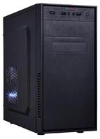"BAZAR EUROCASE skříň MC X201 black, micro tower, 2x USB, 2x audio, bez zdroje ""REPAIRED"""