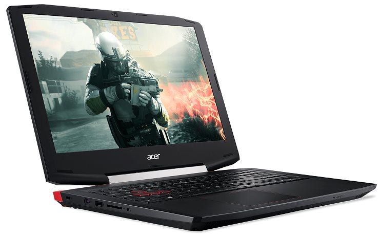 "Acer Aspire VX 15 (VX5-591G-71EF) i7-7700HQ/8GB+8GB/256GB PCIe SSD M.2+1T HDD/GeForceGTX1050Ti/15.6""FHD IPS LEDmat/W10H"