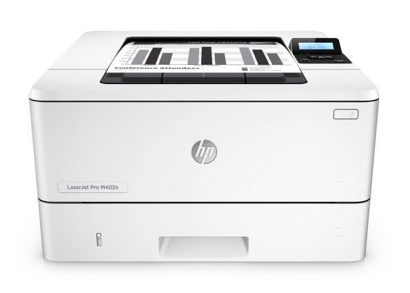 Tiskárna HP LaserJet Pro 400 M402dn A4 čb/33str  USB  LAN  duplex  0,46 Kč/str