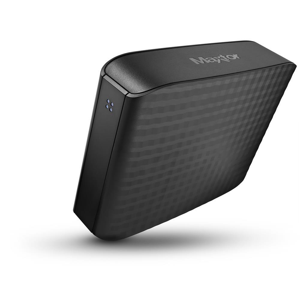 Maxtor externí HDD D3 Station 3.5'' 4TB, USB3, černý