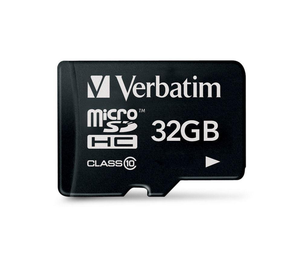 Verbatim Micro SDHC card 32GB Class 10