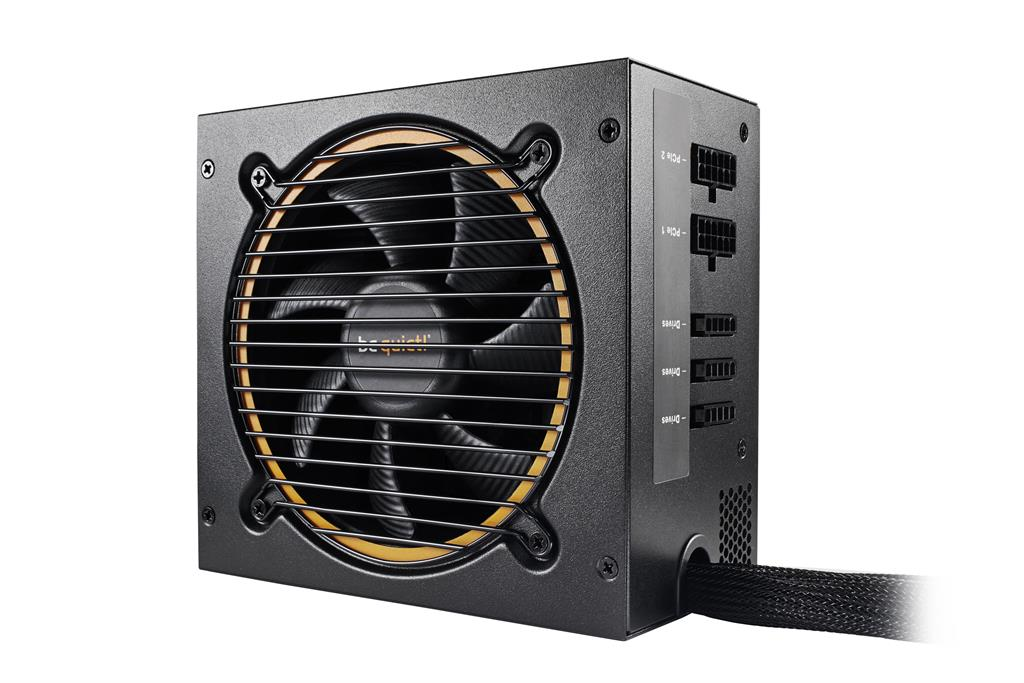 be quiet! Pure Power 10 600W CM, 80PLUS Silver, activePFC, 4xPCI-E