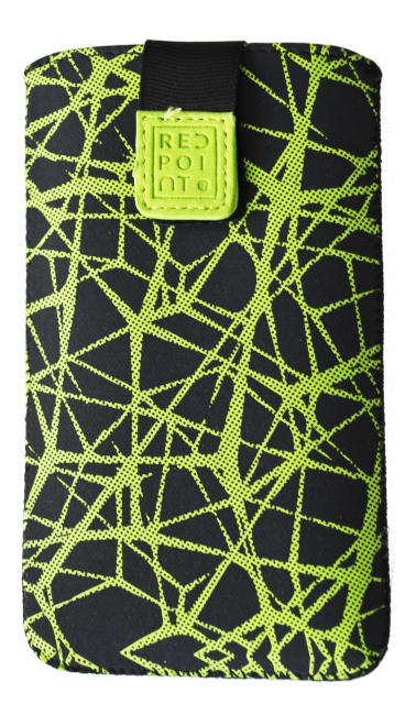 Pouzdro RedPoint Velvet Green Web velikost 4XL