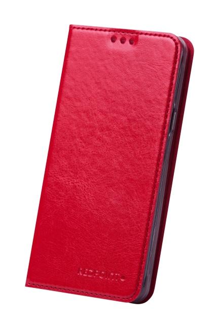 Pouzdro RedPoint Book Slim Huawei P8 Lite Red