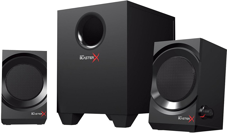 CREATIVE Sound Blaster X Kratos S3 2.1 Speaker (Black)