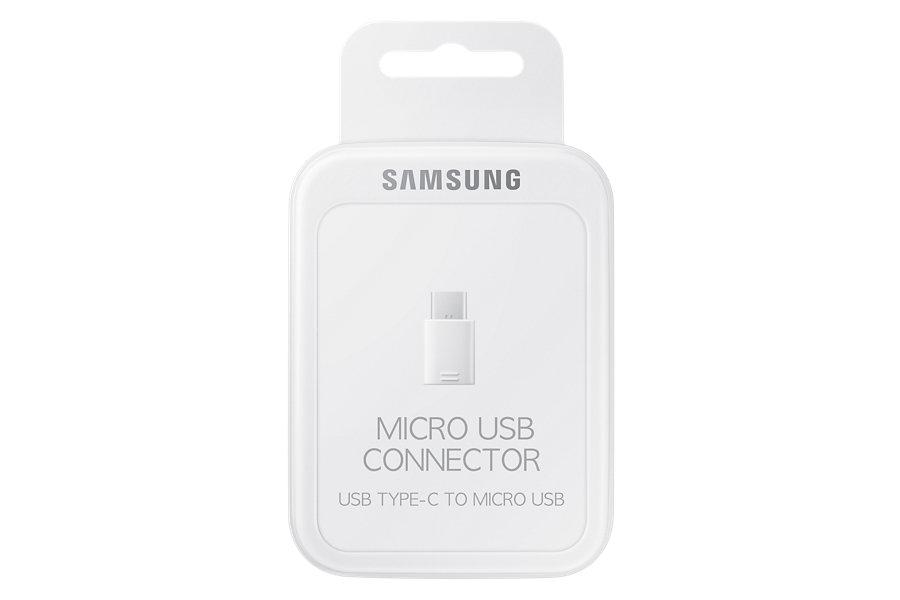 Samsung USB Type C na Micro USB 3ks White