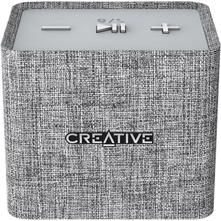Speaker Creative NUNO Micro Bluetooth Wireless Speaker (Grey)
