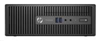 HP ProDesk 400G3 SFF, G4400, 1x4GB, 500GB, Intel HD, usb klávesnice a myš, DVDRW, 180W bronze, Win10Pro