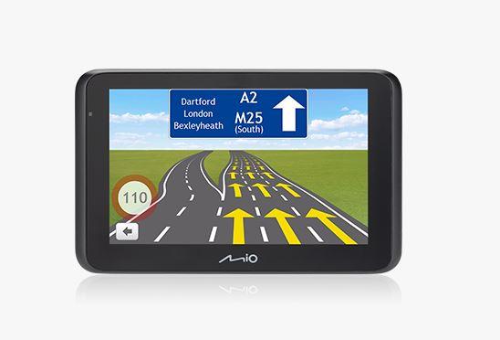 """MIO MiVue Drive 55LM, navigace s kamerou, 5.0"""", mapy EU (44) Lifetime"""