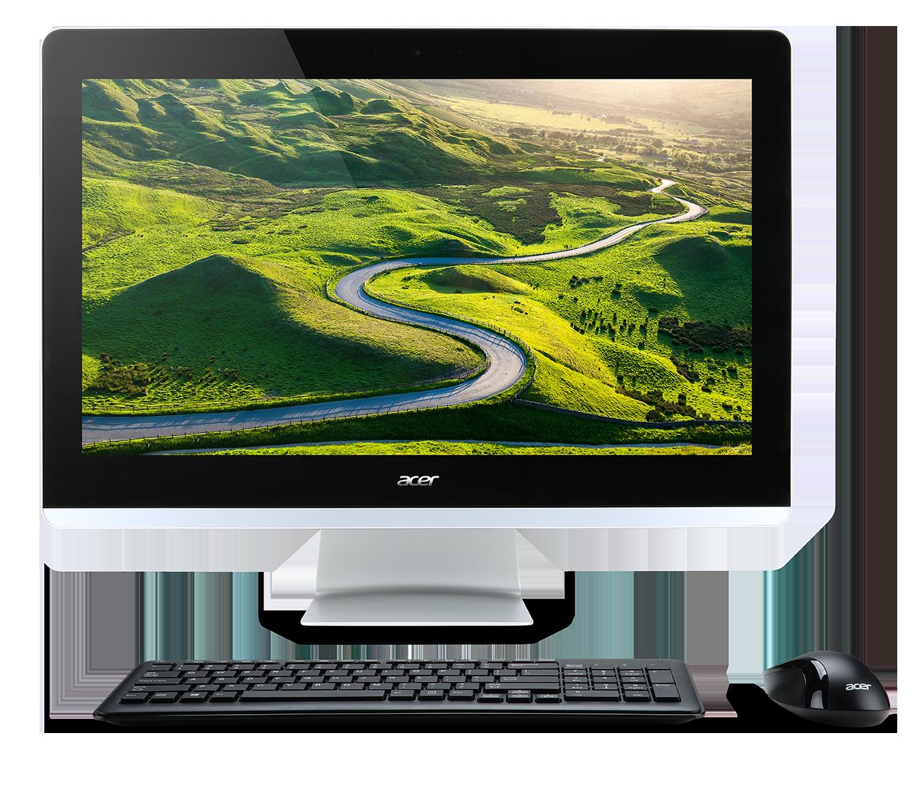 "Acer Aspire AZ3-715- 23,8""/i5-7400T/1TB/8G/W10"