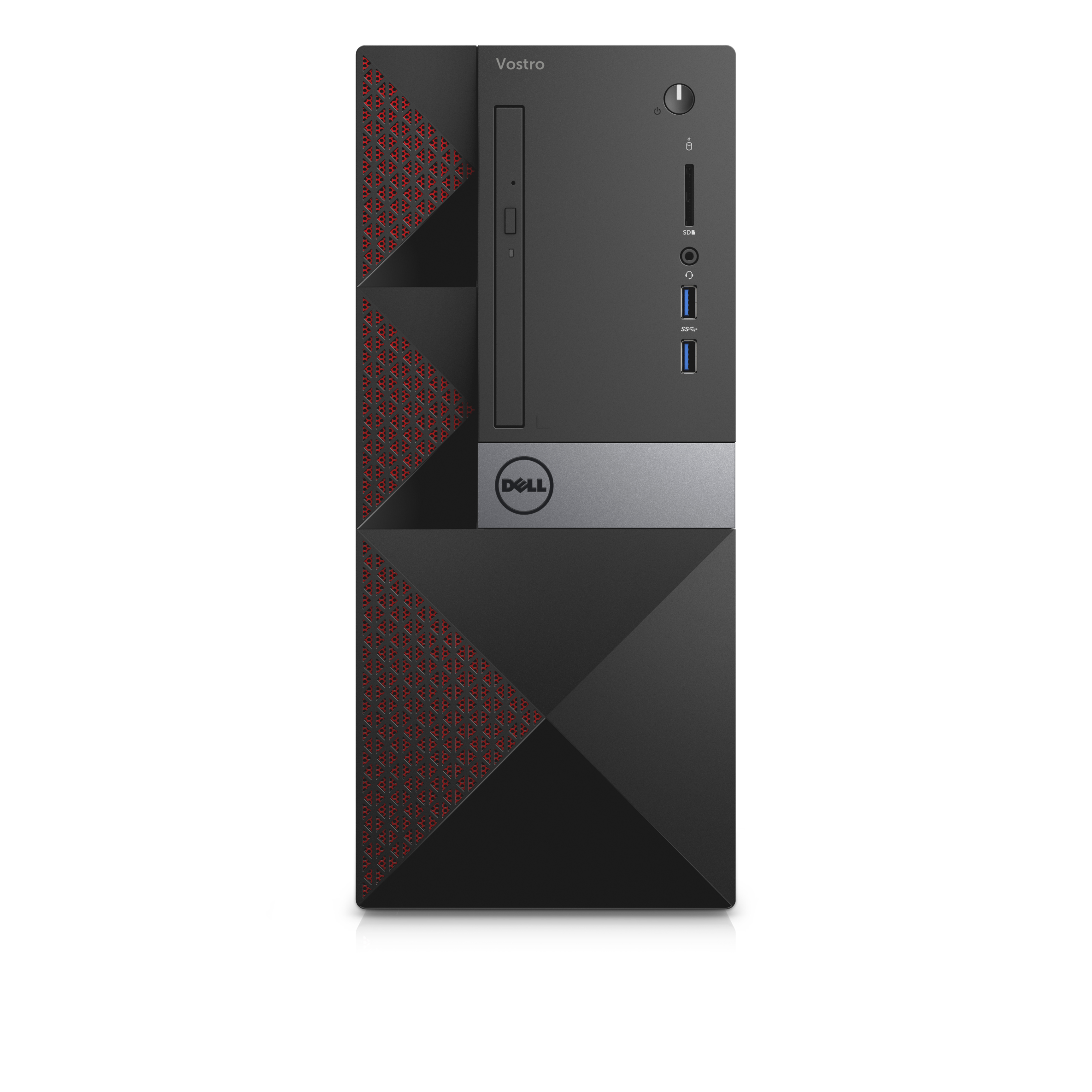 DELL Vostro 3668 MT/i5-7400/4GB/1TB/Intel HD/DVD-RW/Win10 Pro 64bit