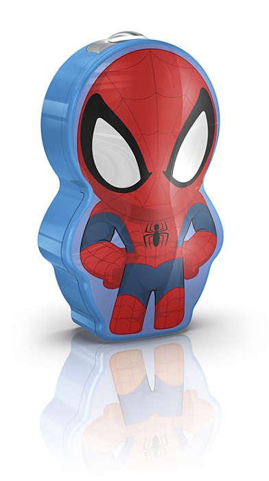 PHILIPS Flash Light Spider-Man Dark Blue