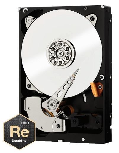 WD Re™ WD5001FSYZ 5TB Cloud HDD 3.5'' SATA/600, 7200RPM, 128MB, StableTrac™