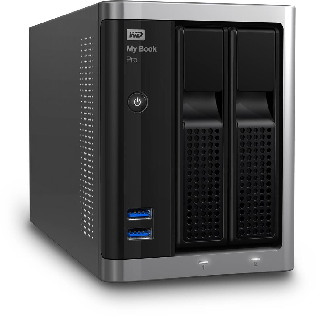 WD My Book Pro 3.5'' externí HDD 10TB, USB 3.0, černý