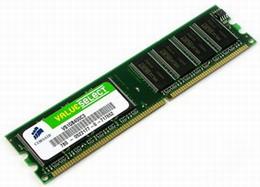 Corsair 1GB 400MHz DDR, CL3 DIMM