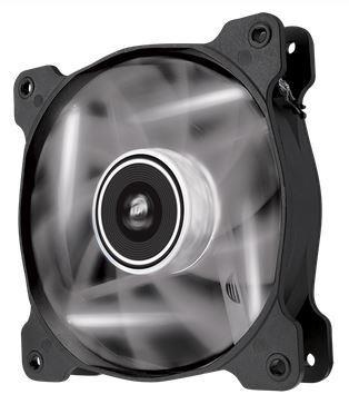 Corsair Air Series AF120 LED White Quiet Edition, 120mm vent., 25dBA,Single pack