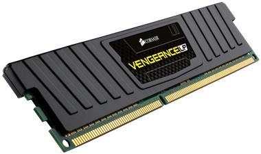 Corsair Vengeance LP 8GB 1600Mhz DDR3 CL9 DIMM, šedý
