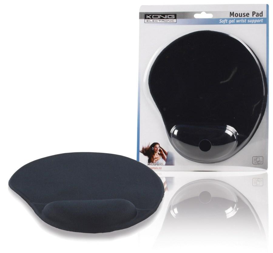 König CMP-MATGEL22 - Myš Podložka, černá