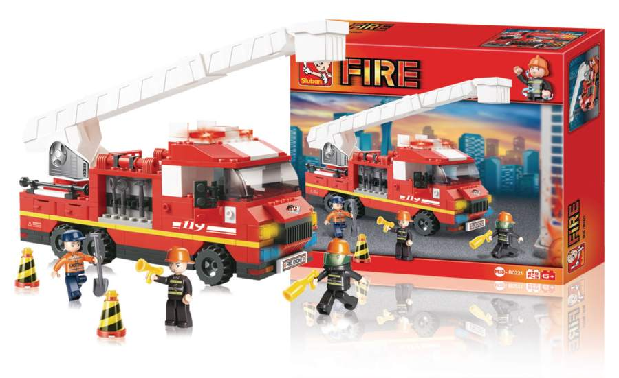 Sluban M38-B0221 - Fire Series - Ladder Truck
