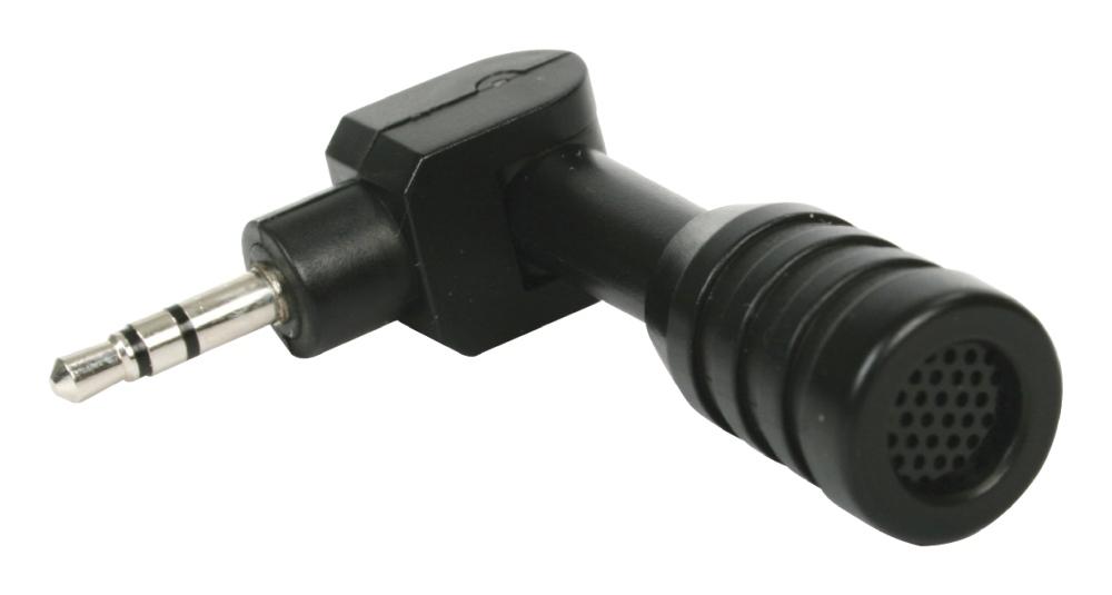 König CMP-MIC9 - mikrofon, Jack 3.5 mm, černá