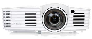 Optoma projektor GT1080e short throw (DLP, FULL 3D 1080p, 3 000 ANSI, 25 000:1, 2x HDMI, MHL, 10W speaker)