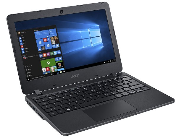 "Acer TravelMate B117-M-P85K Pentium N3710/4GB+N/500 GB HDD+N/BT/HD Graphics/11.6"" HD matný/W10 Home/Black"