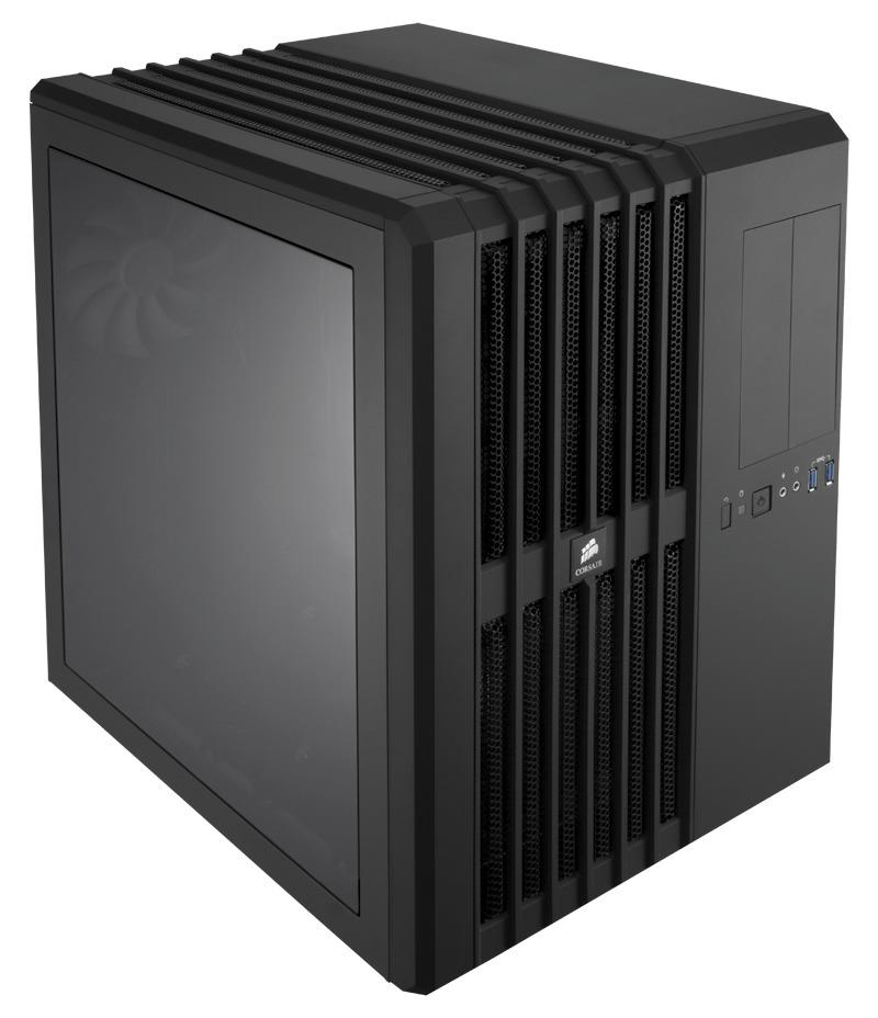 Corsair PC skříň Carbide Air 540 High Airflow ATX Cube, 3x větrák 140mm, USB 3.0