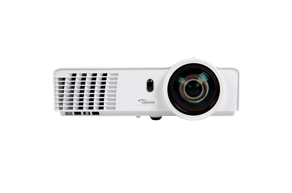 Optoma short-throw herní projektor GT760 (FULL 3D, 720p, 3 400 ANSI, 20 000:1, HDMI, 2x VGA, 2W speaker)