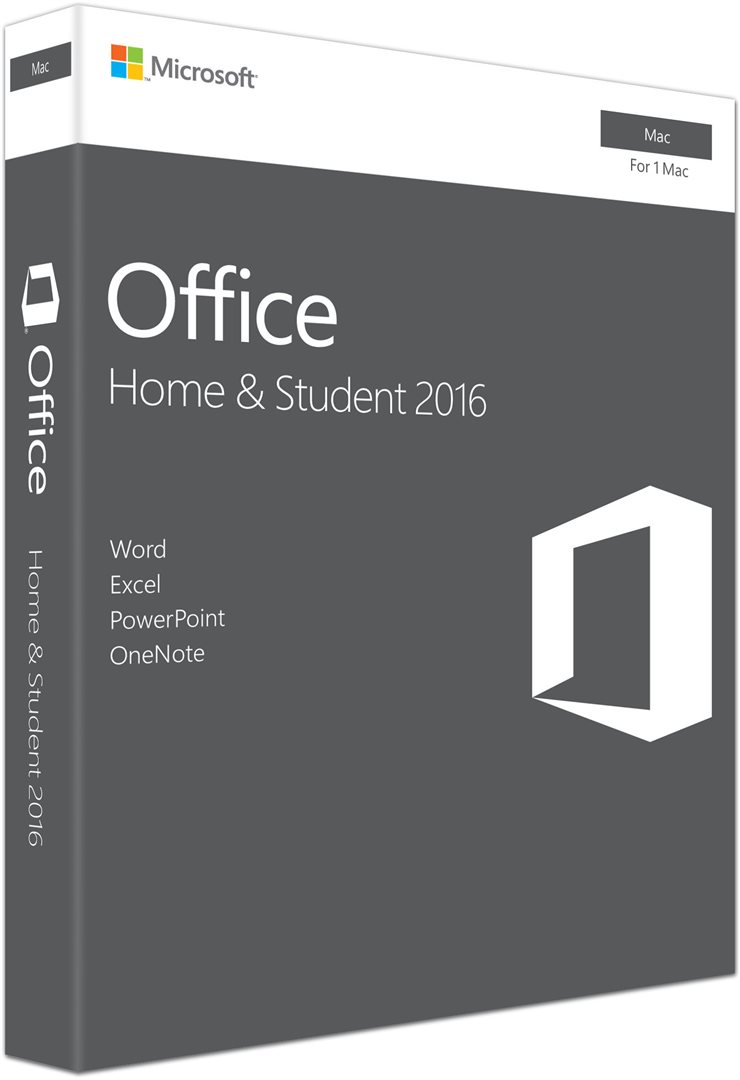 Office Mac Home Student 2016 Slovak EuroZone Medialess